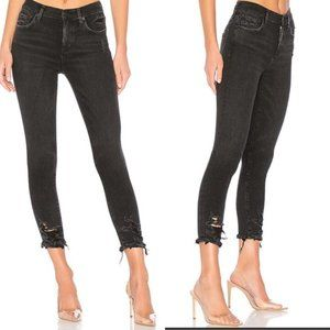 AGOLDE Sophie High Rise Skinny Crop Jeans Size 27